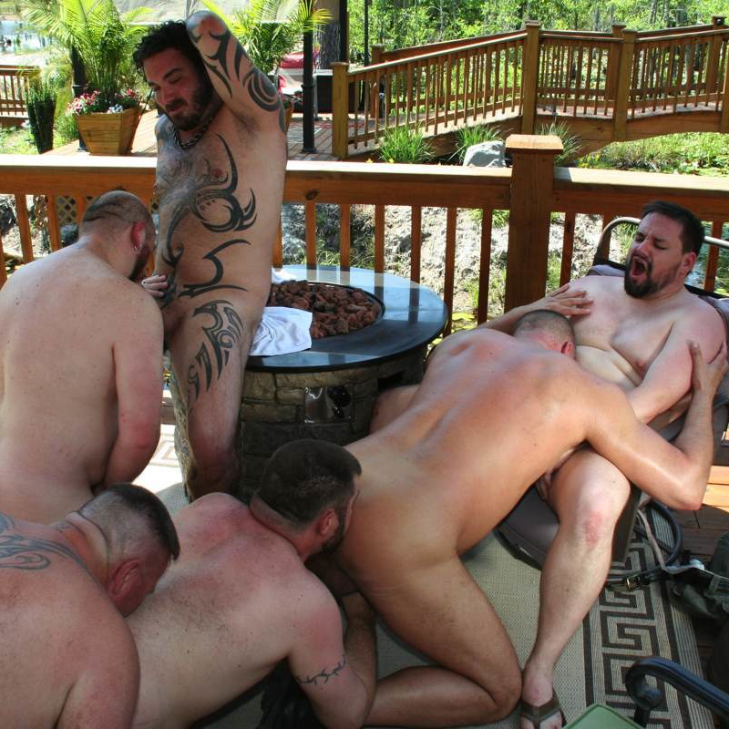 The naked bear porn