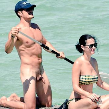Nackt orlando blomm Katy Perry