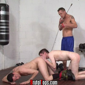 Slave gay like a dog